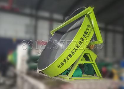 Pan Granulator for Manure Fertilizer Pelleting